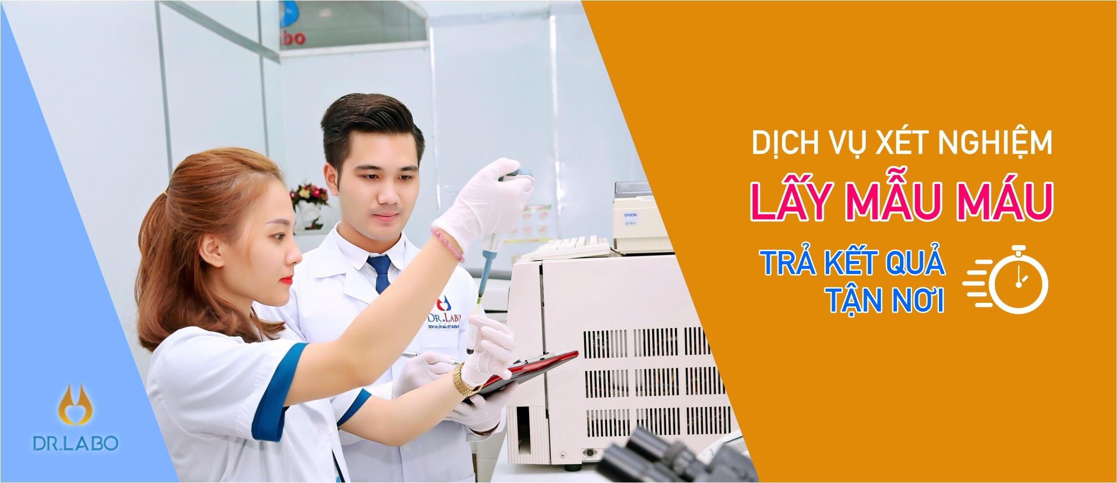 Dịch vụ xét nghiệm máu tại nhà